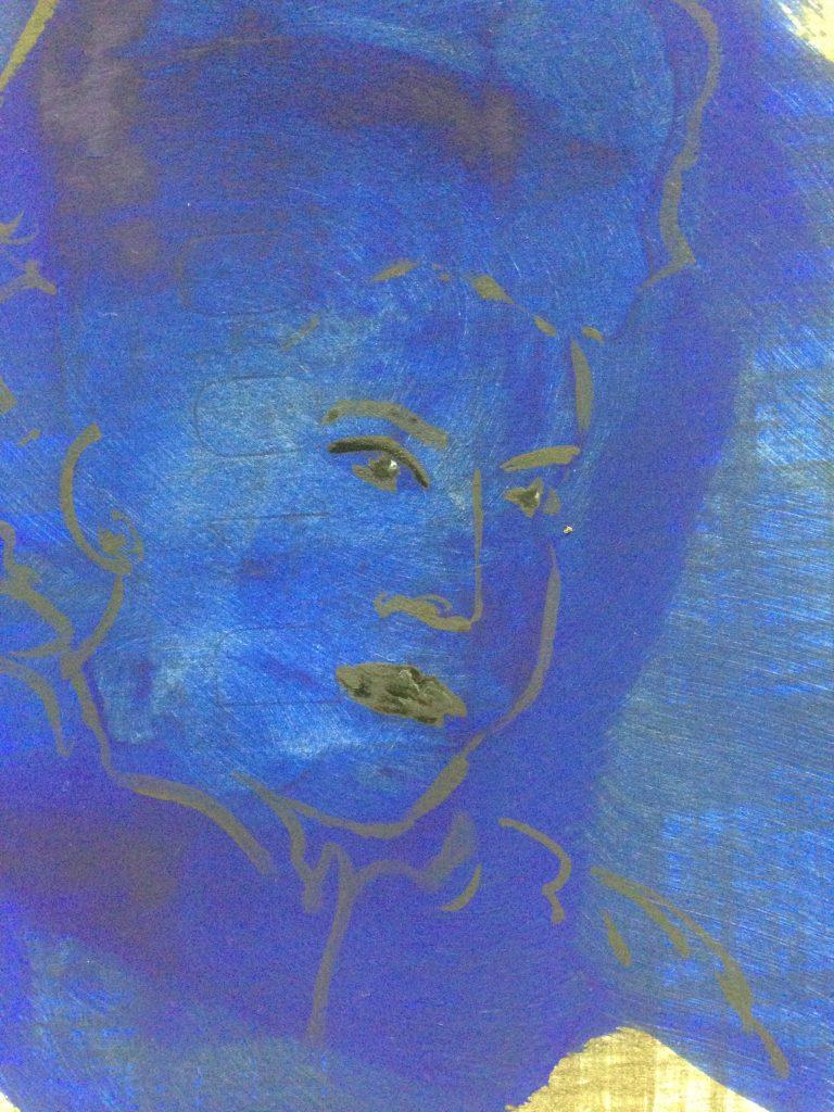 Portrait blaugold